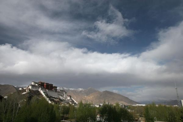 Potala palace seen from Chagpo Ri | Potala Palace | China