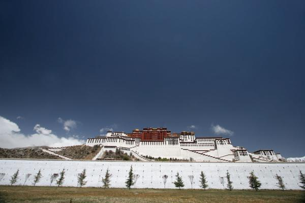 Picture of View of Potala palace from below