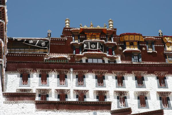 Close-up of Potala palace | Potala Palace | China