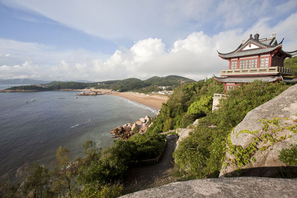 Picture of Putuoshan (China): View of Hundred Steps Beach in the early morning