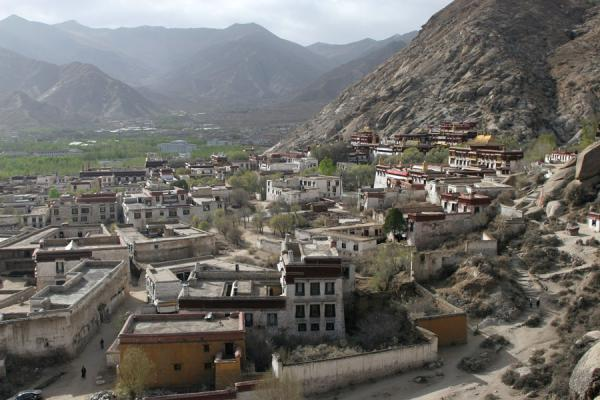 Sera monastery built against the hills north of Lhasa | Sera monastery | China