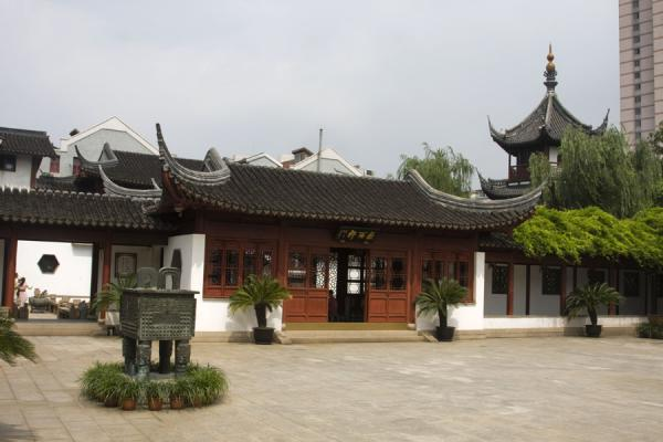 Listening to Rain Hall, part of the Confucian Temple | 上海 | 中国