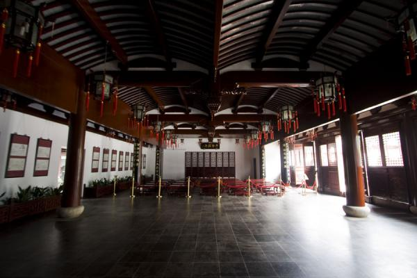 The main Ming Lun study hall where students come to study | Tempio di Confucio | Cina