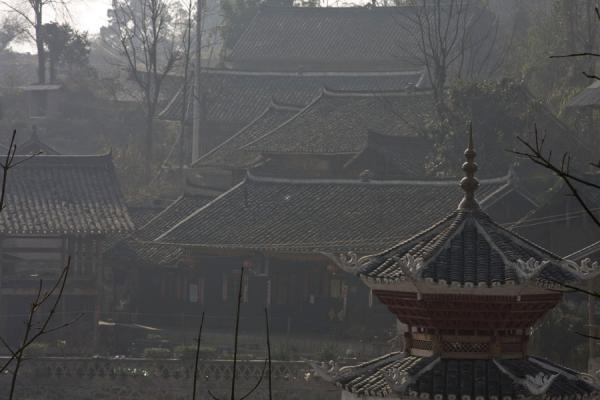 Some of the houses of Shi Long Zhai | Shi Long Zhai | China