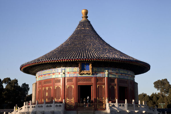 The Imperial Vault of Heaven, standing on a marble stone base | Temple of Heaven Park | China