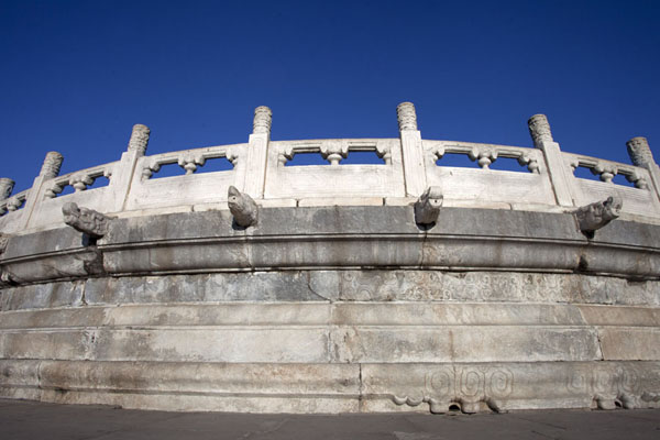 Looking up the Circular Mound Altar | Temple of Heaven Park | China