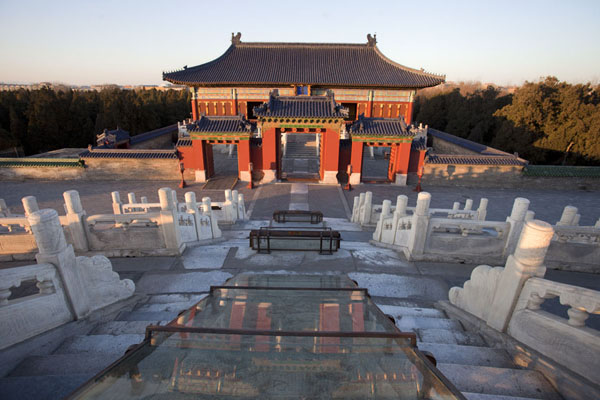Temple north of the Hall of Prayer for Good Harvests | Temple of Heaven Park | China