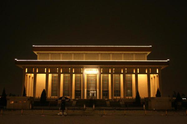 Mao's mausoleum by night | Tien An Men By Night | China