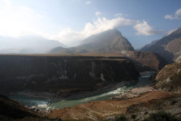 Looking back to the Tiger Leaping Gorge from the north-eastern side | Tiger Leaping Gorge | China