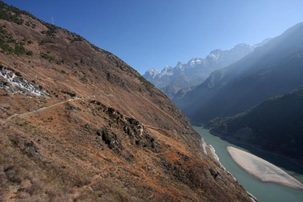 Yangtze River just before it enters the Tiger Leaping Gorge | Tiger Leaping Gorge | China