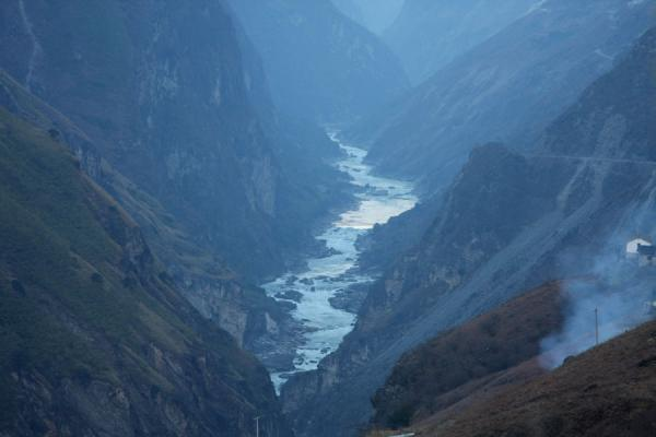 Tiger Leaping Gorge seen from near Tina's Guesthouse | Tiger Leaping Gorge | China