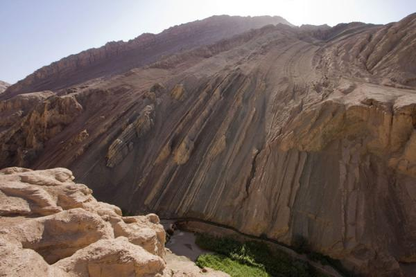 Picture of Tuyoq Old Town (China): The spectacular Flaming Mountains near Tuyoq