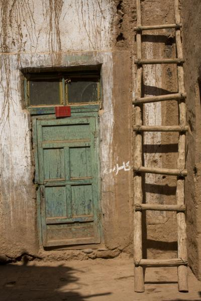 Door and stairs and house in Tuyoq | Tuyoq Old Town | China