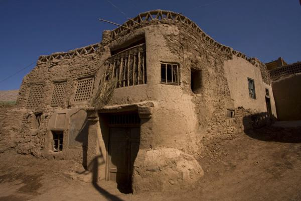 Traditional adobe house in Tuyoq | Tuyoq Old Town | China