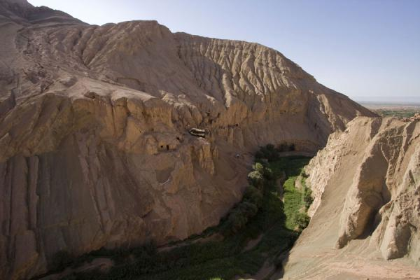 Picture of Tuyoq Old Town (China): The canyon in the Flaming Mountains just outside Tuyoq