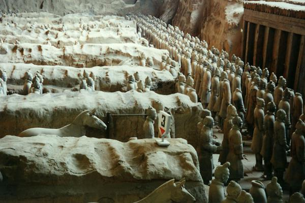 The front of the army | Xian Terracotta Warriors | China