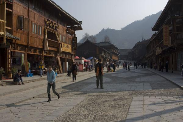 Picture of Tourist street in Xijiang