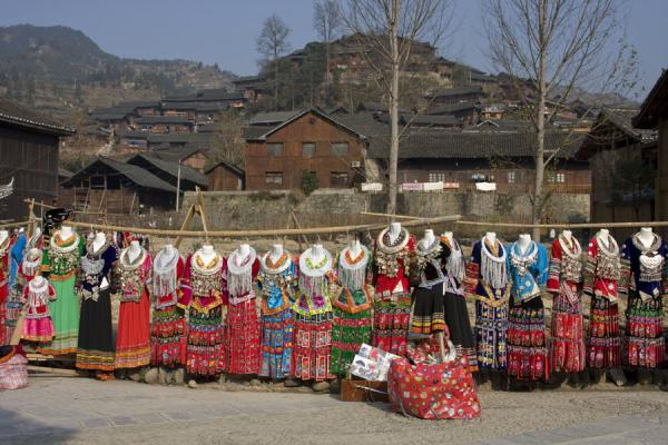 Traditional Miao costumes in Xijiang village | Xijiang | China
