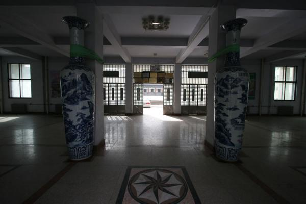 Picture of Entrance hall of the Dongguan Mosque of Xining