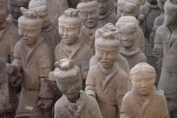 Every face is different | Xuzhou Terracotta Warriors | China