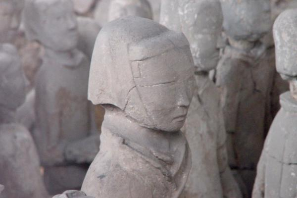 Close-up of the commander | Xuzhou Terracotta Warriors | China