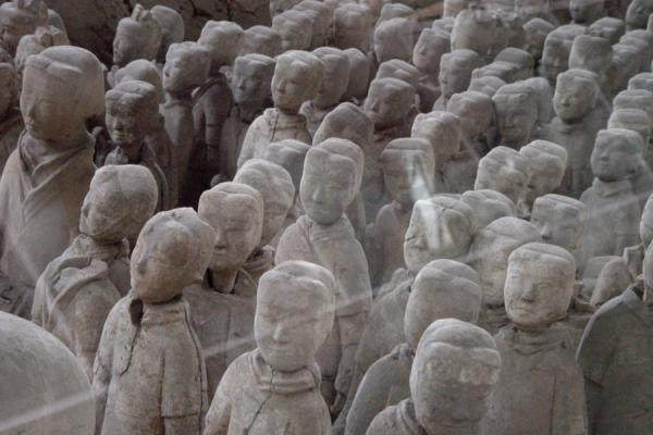 Some of the warriors | Xuzhou Terracotta Warriors | China