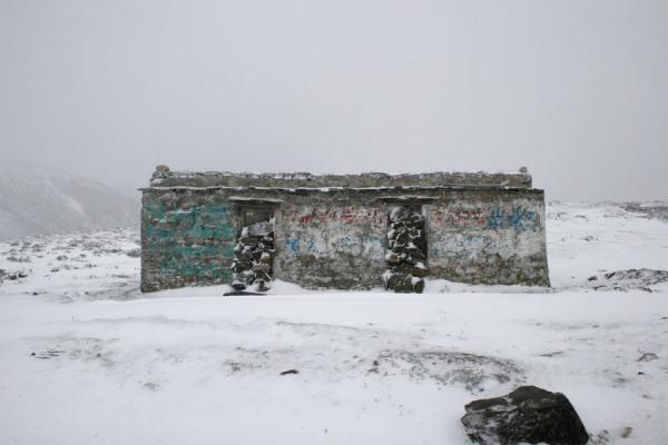 Picture of Zheduo pass (China): Bunker like construction on our way up to Zheduo pass