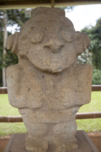 Statue at Alto de los Ídolos | Alto de los Ídolos | Colombia