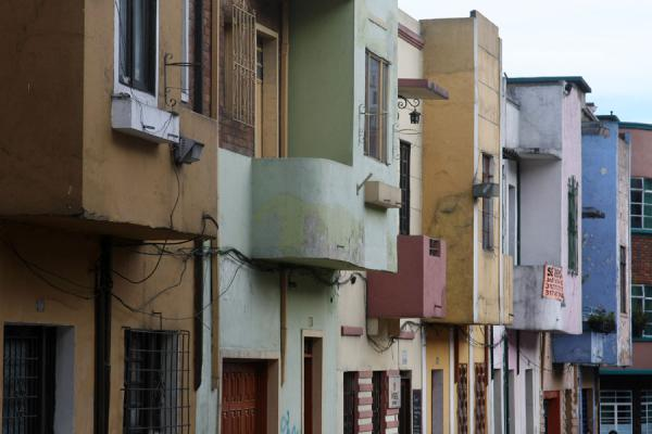 Picture of Row of houses in La Candelaria