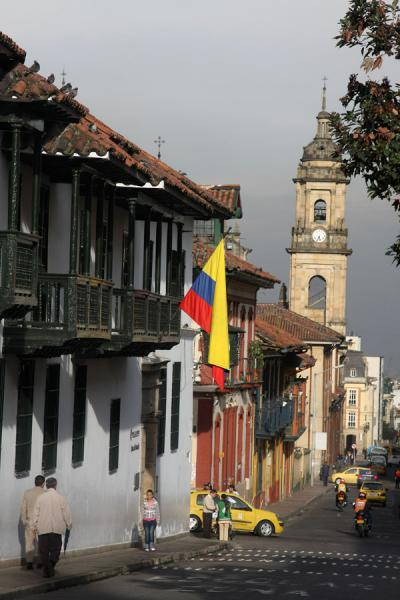 One of the streets of La Candelaria | La Candelaria | Colombia