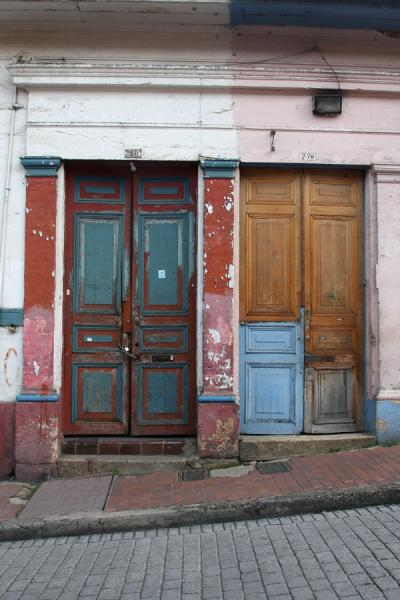Two doors in La Candelaria | La Candelaria | Colombia