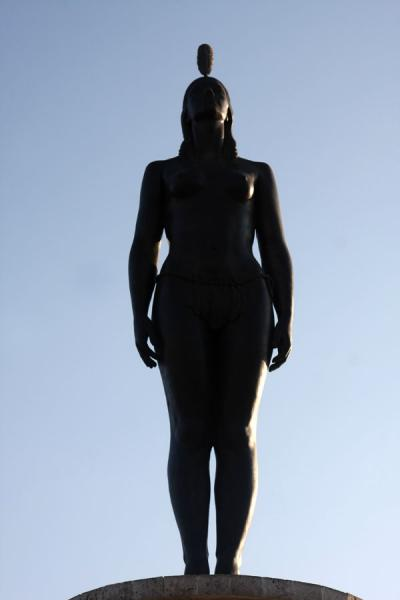Statue of the India Catalina, indigenous interpreter for the first Spanish conquerors | Cartagena de Indias | Colombia