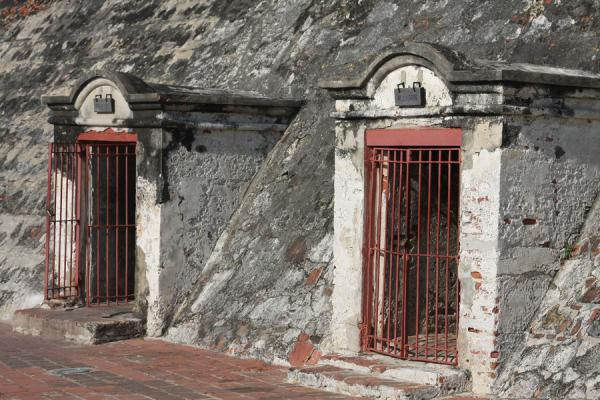Picture of Castillo San Felipe de Barajas (Colombia): Warehouses for ammunition in the Castillo San Felipe