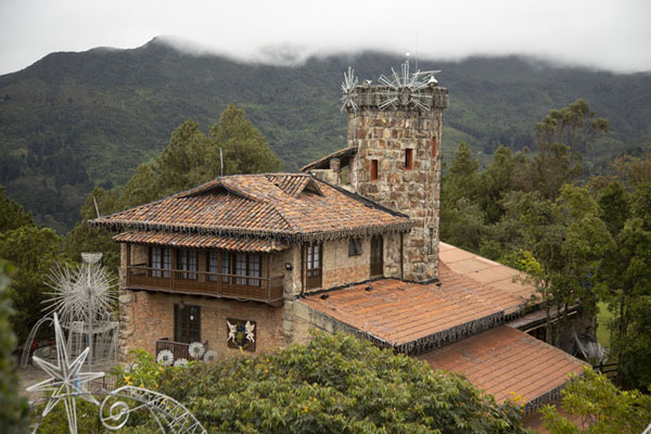 One of the restaurants on top of Cerro Monserrate | Cerro Monserrate | 哥伦比亚