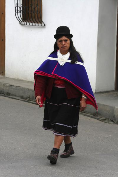 Indigenous Indian woman in Colombia | Colombian people | Colombia