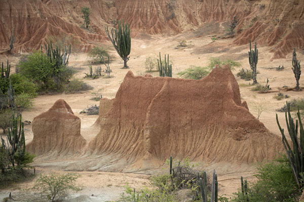 View over impressive formations in the Tatacoa Desert | Tatacoa Desert | Colombia