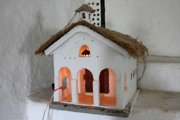 Small replica of the church of San Andrés de Pisimbalá | San Andrés de Pisimbalá church | Colombia