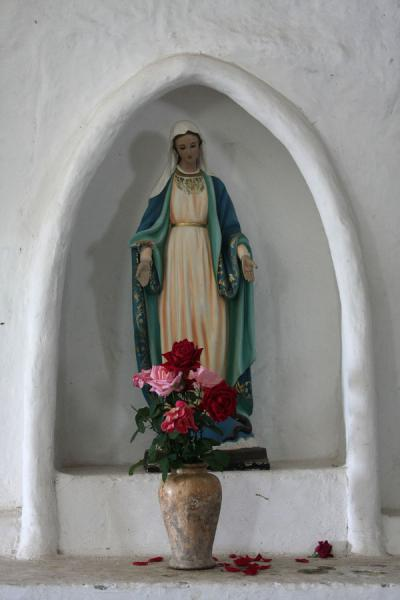 Virgin Mary in the church of San Andrés de Pisimbalá | Iglesia San Andrés de Pisimbalá | Colombia