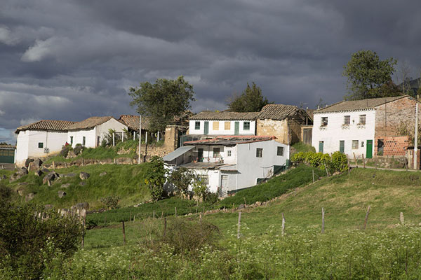 Houses higher up in Monguí | Monguí | 哥伦比亚