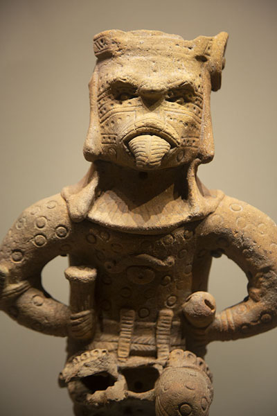 Picture of Anthropomorphic object in the Gold Museum of Santa Marta - Colombia - Americas