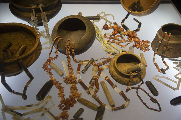 Collection of pre-hispanic items in the Gold Museum of Santa Marta | Museo del Oro Tairona | Colombia