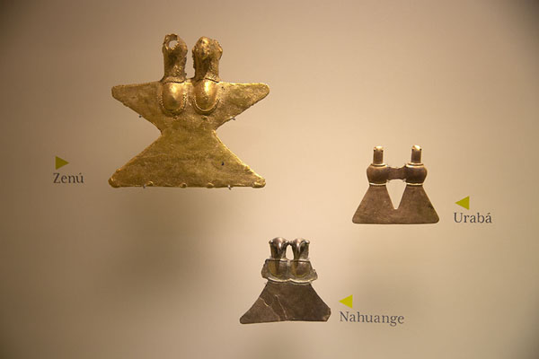 Objects from different periods, all pre-hispanic | Museo del Oro Tairona | Colombia