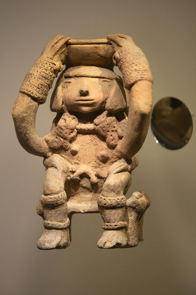 Nahuange sculpture in the Gold Museum of Santa Marta | Museo del Oro Tairona | Colombia