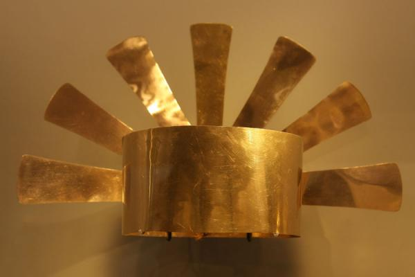 Golden crown in the Gold Museum | Museo del Oro | Colombia