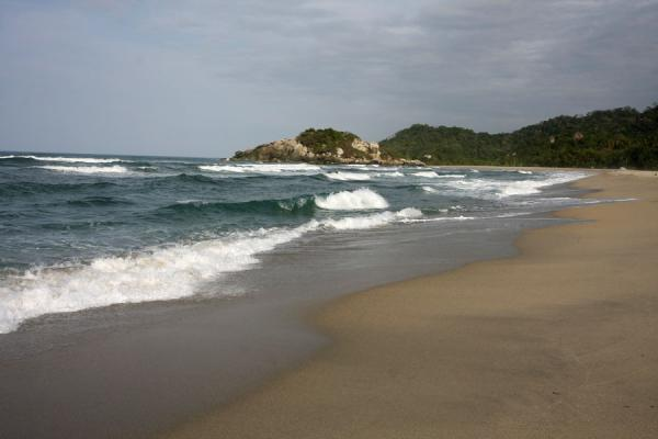 Picture of Arrecifes beach in Parque Nacional Tayrona