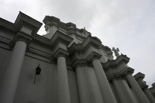 View from below of the Cathedral of Popayán | Popayán | Colombia
