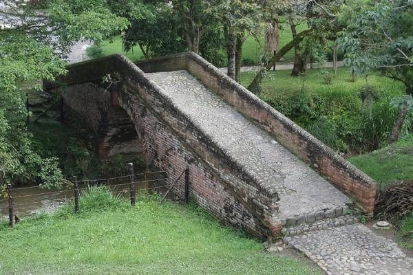 Picture of Puente de la Custodia has already served Popayán for centuries - Colombia - Americas