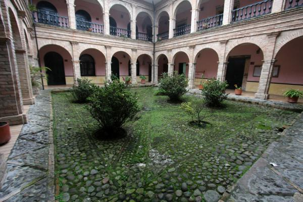Courtyard in a mansion in Popayán | Popayán | Colombia