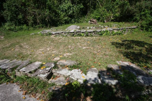 Only the outline can be seen of these old structures at Pueblito | Pueblito Chairama ruins | 哥伦比亚