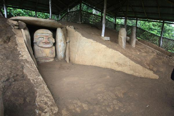 Tomb at El Purutal | San Agustín Archeological sites | Colombia
